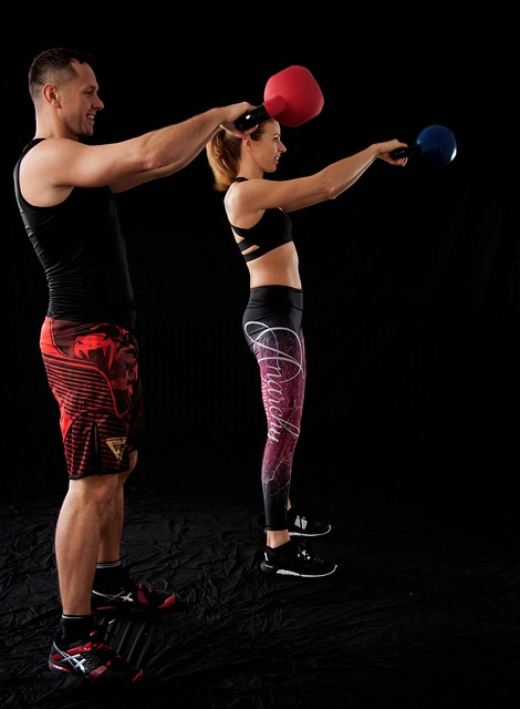 Crossfit Man and Woman