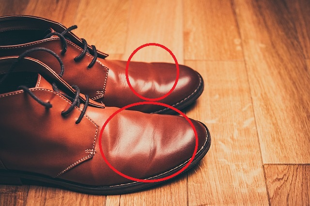 Squeaky Brown Leather Shoes